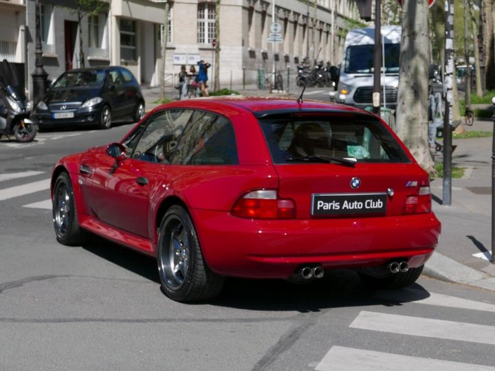 BMW Z3 M 3.2 coupé Rouge Imola Occasion - 5