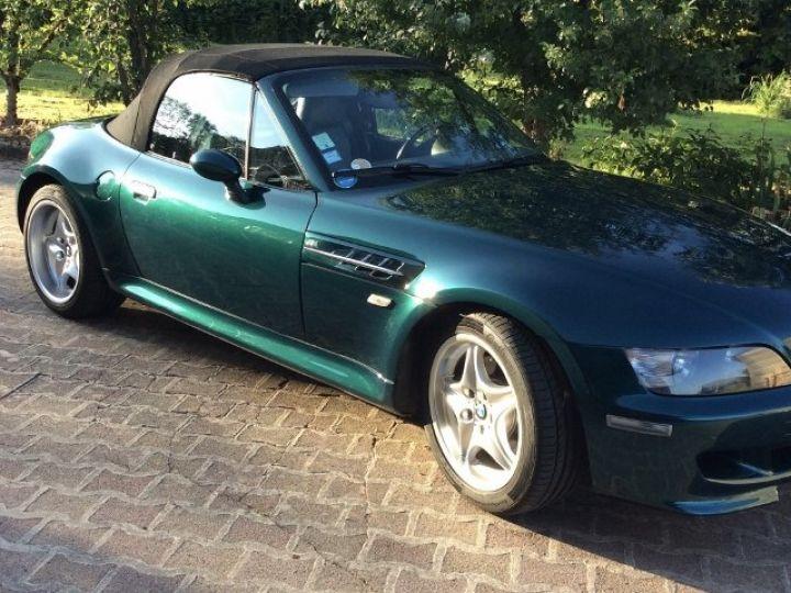 BMW Z3 ROADSTER M 3.2 L / 321cv (Année1997)  Vert metalisé - 2