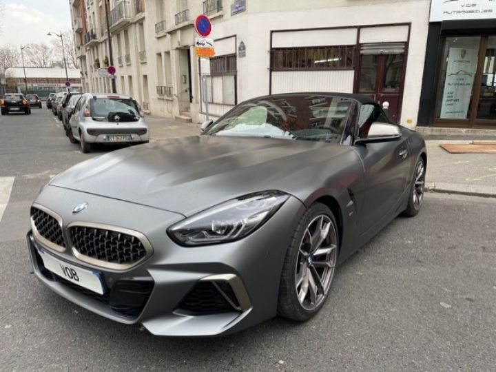 BMW Z4 BMW Z4 (G29) 3.0 M40I M PERFORMANCE BVA8 5200KMS FRANCAISE Gris Mat - 1