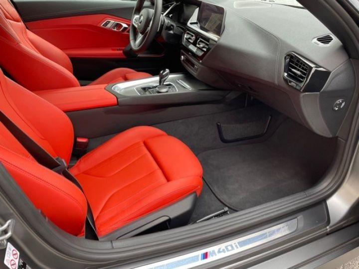 BMW Z4 BMW Z4 (G29) 3.0 M40I M PERFORMANCE BVA8 5200KMS FRANCAISE Gris Mat - 28