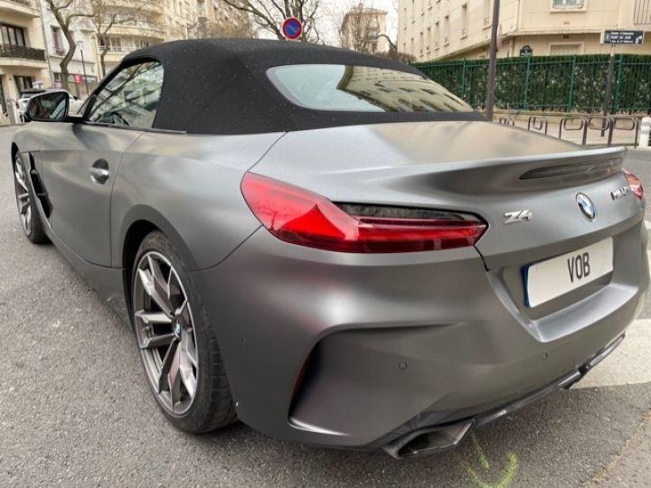 BMW Z4 BMW Z4 (G29) 3.0 M40I M PERFORMANCE BVA8 5200KMS FRANCAISE Gris Mat - 9