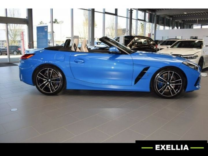 BMW Z4 ROADSTER M40I bleu misano  Occasion - 8
