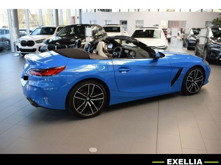 BMW Z4 ROADSTER M40I bleu misano  Occasion - 9