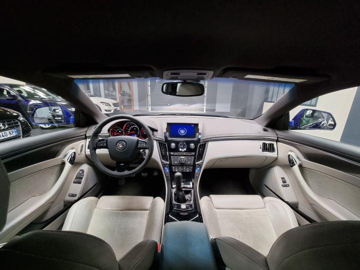 Cadillac CTS-V Coupé 564ch V8 6.2L Supercharged Bleu - 2