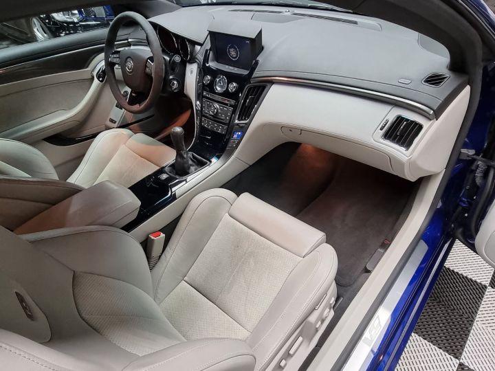Cadillac CTS-V Coupé 564ch V8 6.2L Supercharged Bleu - 7