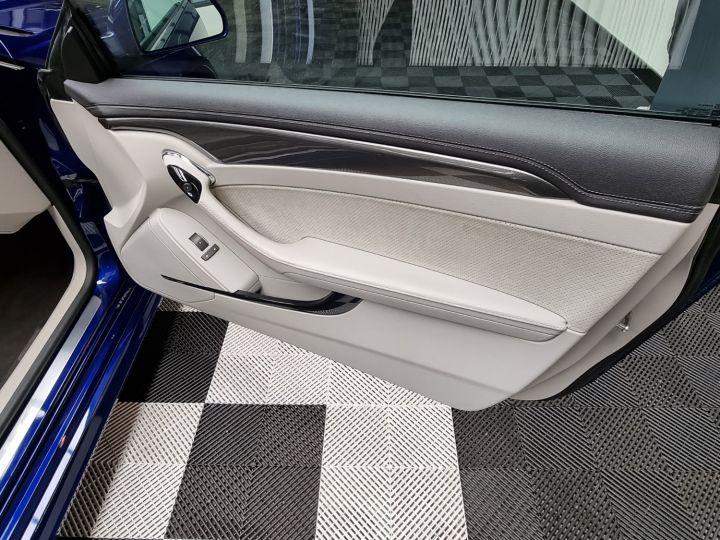 Cadillac CTS-V Coupé 564ch V8 6.2L Supercharged Bleu - 8