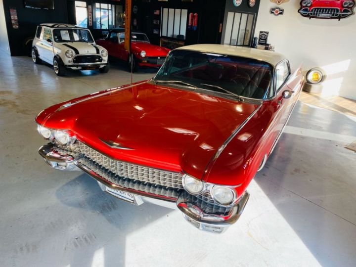 Cadillac DEVILLE V8 390CI Rouge - 3