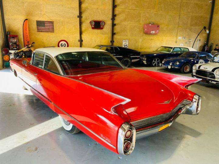 Cadillac DEVILLE V8 390CI Rouge - 5