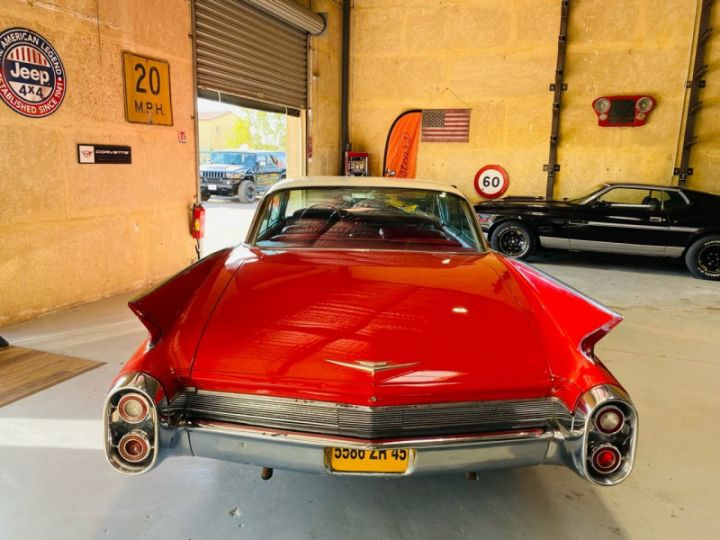 Cadillac DEVILLE V8 390CI Rouge - 6