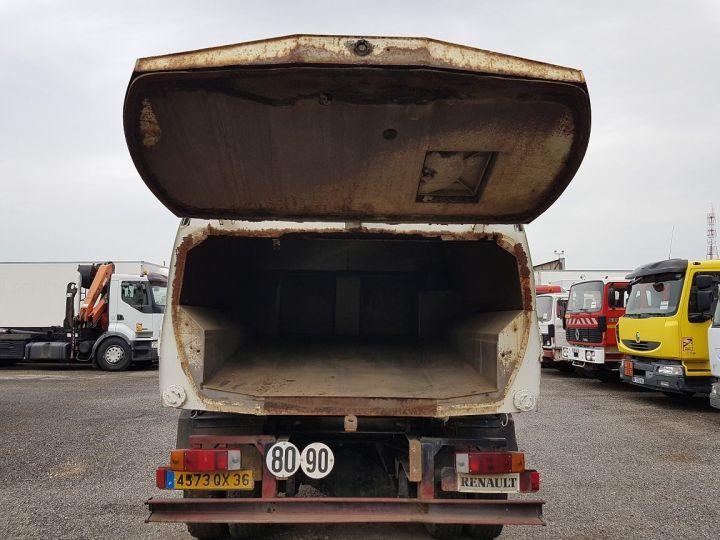 Camión Renault Midliner Barredora aspiradora M160.11 SEMAT A500 - Sans carte grise BLANC - VERT - 8