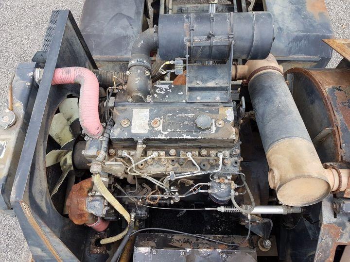 Camión Renault Midliner Barredora aspiradora M160.11 SEMAT A500 - Sans carte grise BLANC - VERT - 16