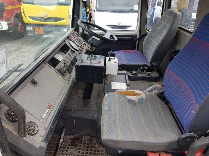 Camión Renault Midliner Barredora aspiradora M160.11 SEMAT A500 - Sans carte grise BLANC - VERT - 19