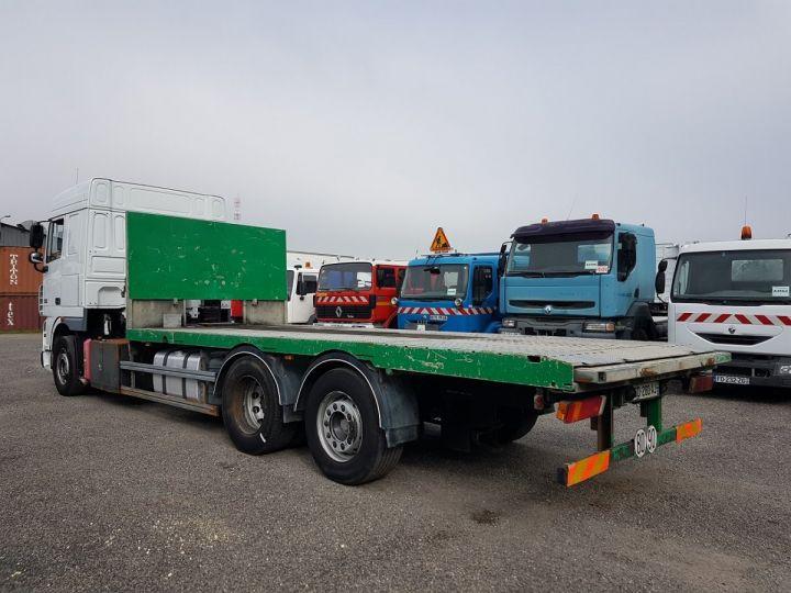 Camión Daf XF105 Caja abierta 510 6x2/4 SPACECAB BLANC et VERT - 4