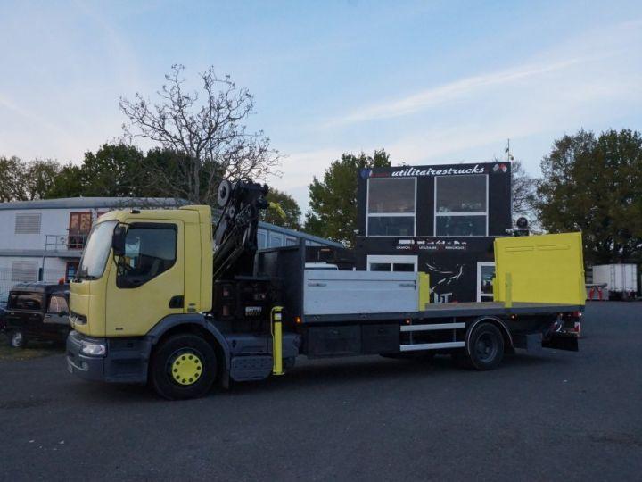 Camión Renault Caja abierta + grúa Jaune - 2