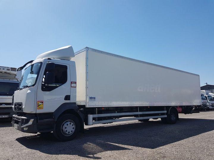 Camión Renault D Caja cerrada + Plataforma elevadora MED 14.280dti Fourgon 9m85 BLANC - 1