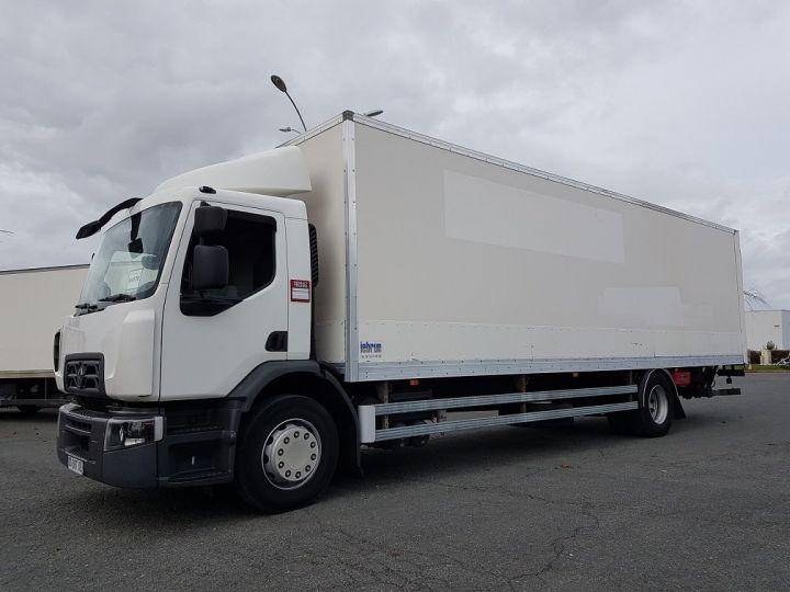 Camión Renault D Caja cerrada + Plataforma elevadora WIDE 19.280dti - Fourgon 9m40 BLANC - 1