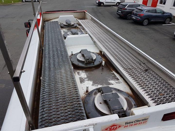 Camión Renault Midlum Cisterna hydrocarburos 280dxi.16 - 11000 litres BLANC - ROUGE - 5