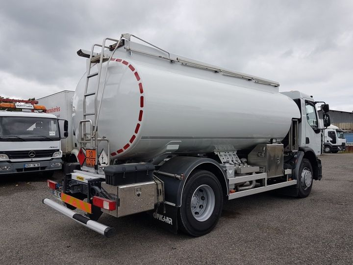 Camión Renault Premium Cisterna hydrocarburos 310dxi.19 - 13500 litres BLANC - 2