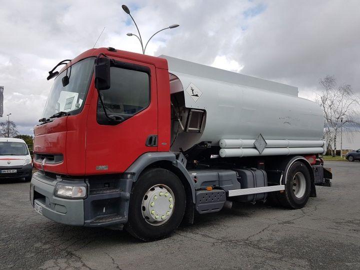 Camión Renault Premium Cisterna hydrocarburos 320dci.19D CITERNE A HUILE ROUGE et BLANC - 1