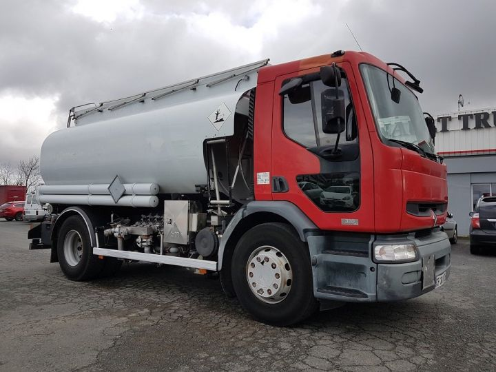 Camión Renault Premium Cisterna hydrocarburos 320dci.19D CITERNE A HUILE ROUGE et BLANC - 3