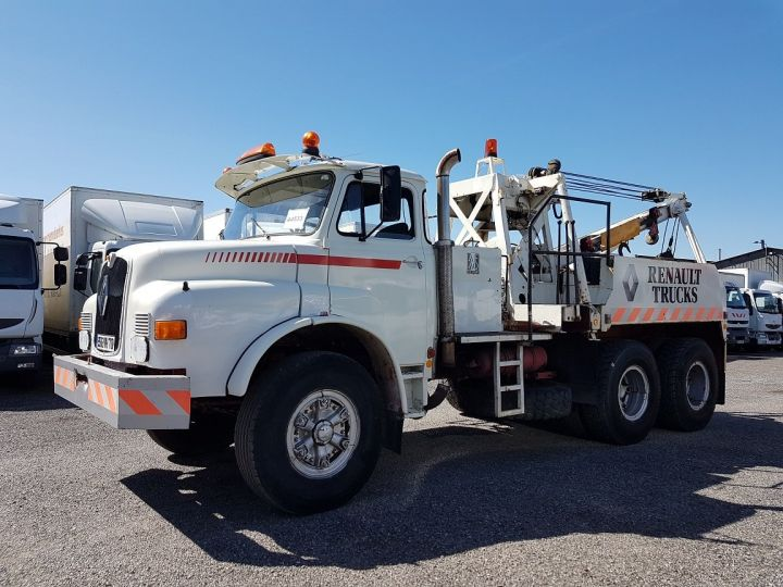 Camión Man DF Coche taller 22.215 DHN 6x4 ORIGINAL BLANC - 1