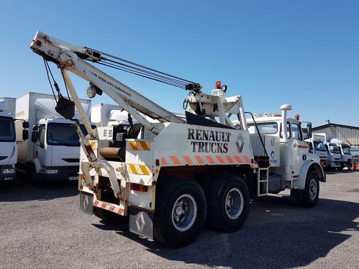 Camión Man DF Coche taller 22.215 DHN 6x4 ORIGINAL BLANC - 2