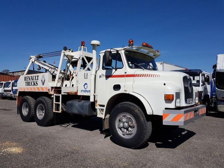 Camión Man DF Coche taller 22.215 DHN 6x4 ORIGINAL BLANC - 3