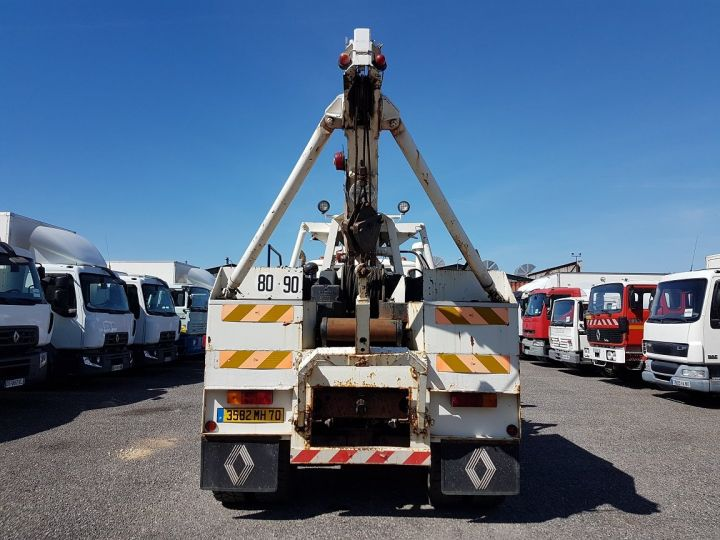 Camión Man DF Coche taller 22.215 DHN 6x4 ORIGINAL BLANC - 5