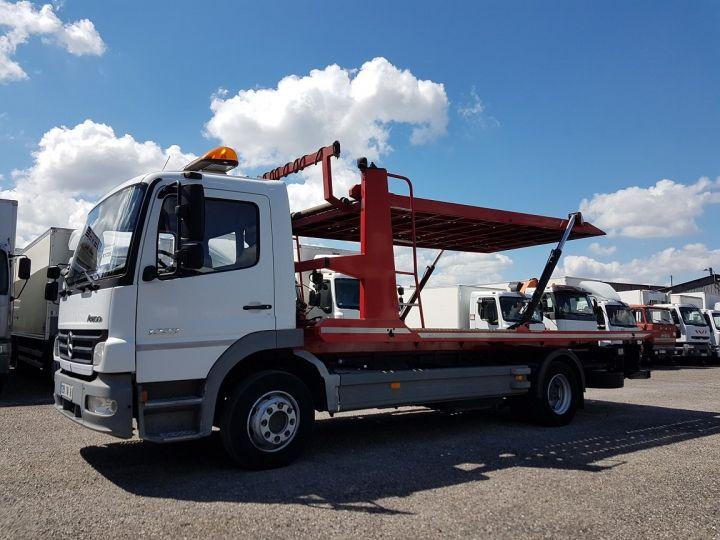 Camión Mercedes Atego Coche taller 1223 NL - BESSE et AUPY à etage BLANC ET ROUGE - 1
