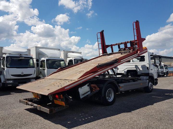 Camión Mercedes Atego Coche taller 1223 NL - BESSE et AUPY à etage BLANC ET ROUGE - 3