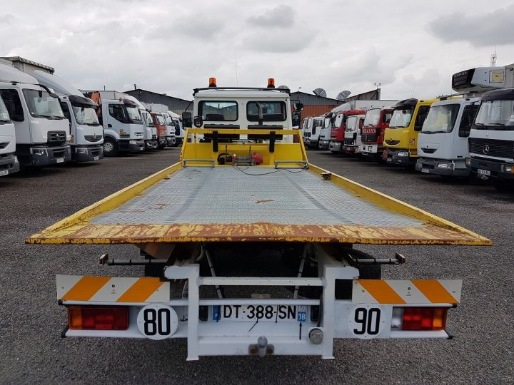 Camión Renault Midliner Coche taller S120.07/A porte-voiture FIAULT + treuil BLANC - JAUNE - 8