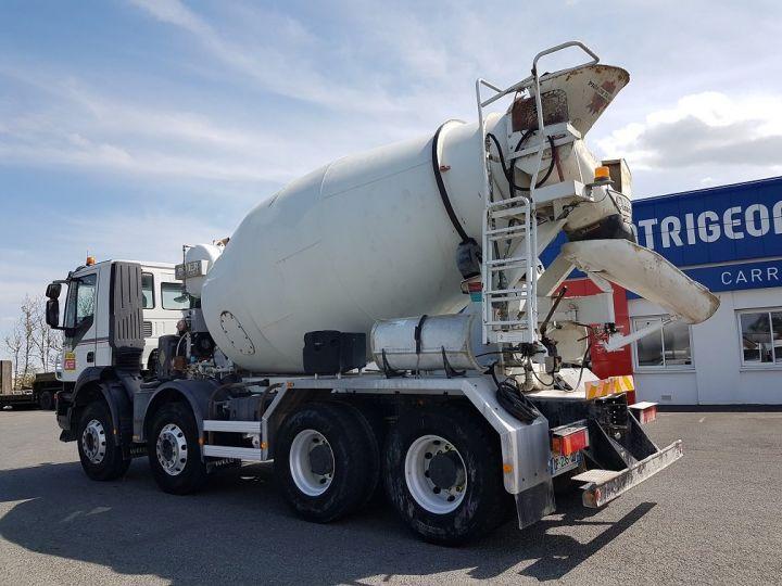 Camión Iveco Trakker Hormigonera 410 8x4 - IMER 8.5m3 BLANC - 4