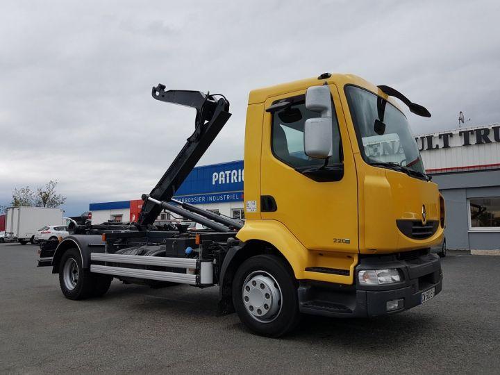 Camión Renault Midlum Multibasculante Ampliroll 220dxi.12 MULTILIFT JAUNE - 4