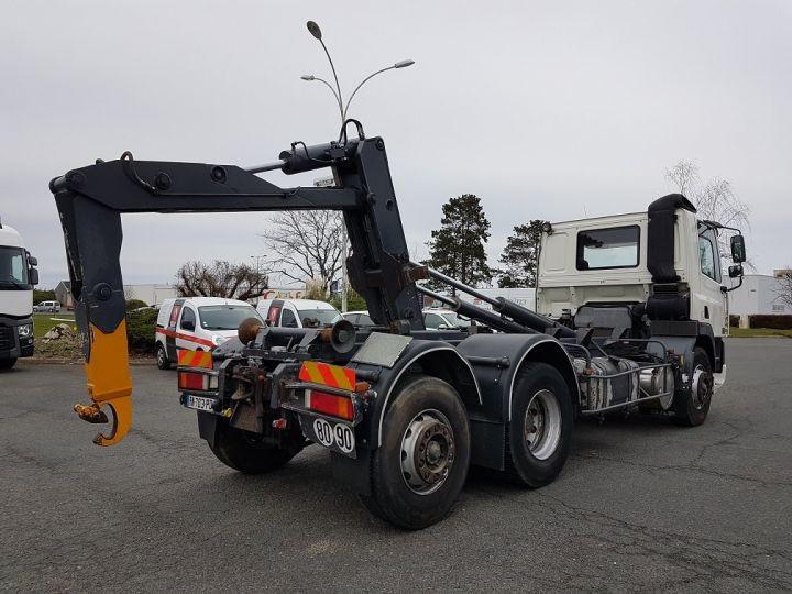 Camion porteur Daf CF Ampliroll Polybenne 85.340 6x2 GUIMA BL16 BLANC Occasion - 2