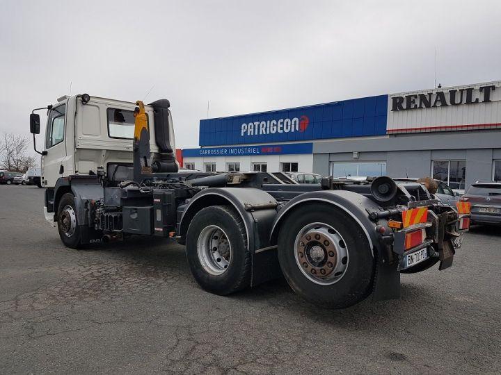 Camion porteur Daf CF Ampliroll Polybenne 85.340 6x2 GUIMA BL16 BLANC Occasion - 6