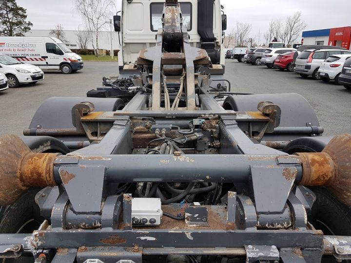 Camion porteur Daf CF Ampliroll Polybenne 85.340 6x2 GUIMA BL16 BLANC Occasion - 8