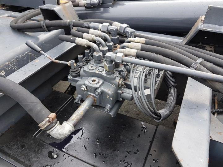 Camion porteur Daf CF Ampliroll Polybenne 85.340 6x2 GUIMA BL16 BLANC Occasion - 9