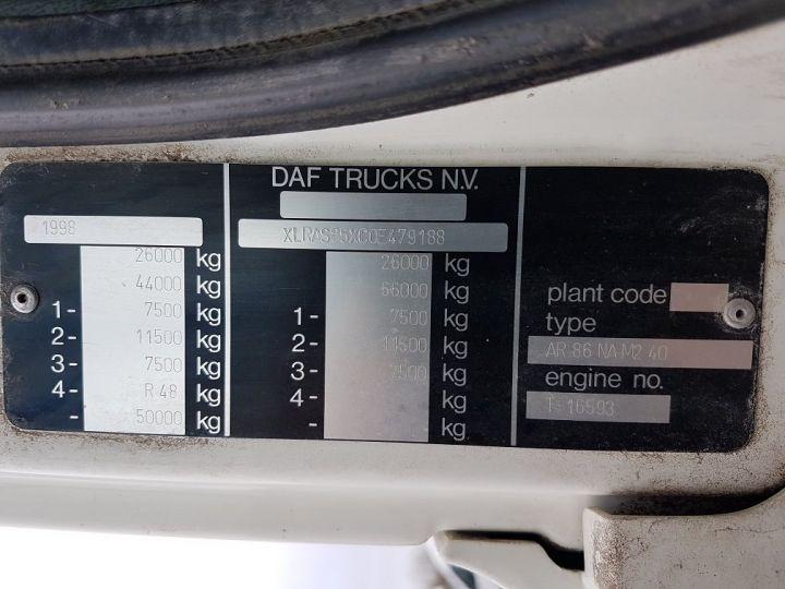 Camion porteur Daf CF Ampliroll Polybenne 85.340 6x2 GUIMA BL16 BLANC Occasion - 21