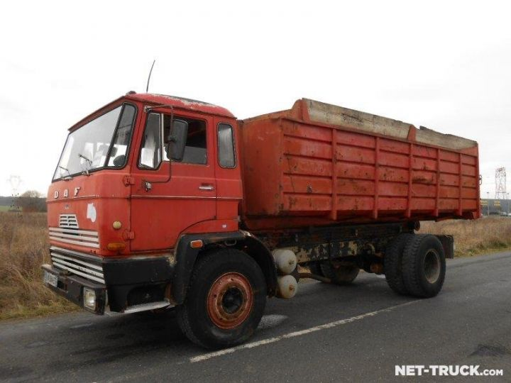 Camion porteur Daf FAT Ampliroll Polybenne  - 1