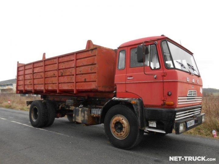 Camion porteur Daf FAT Ampliroll Polybenne  - 3