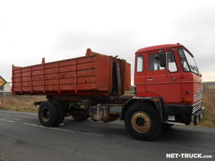 Camion porteur Daf FAT Ampliroll Polybenne  - 4