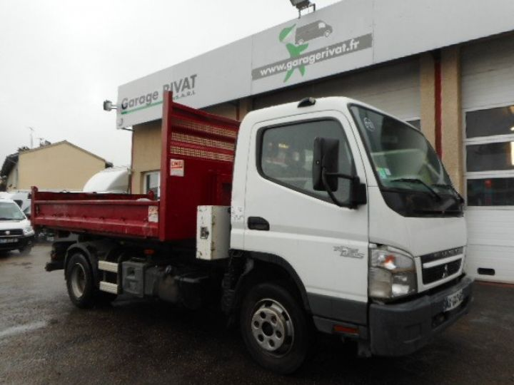 Camion porteur Mitsubishi Canter Ampliroll Polybenne 7C15  Occasion - 1