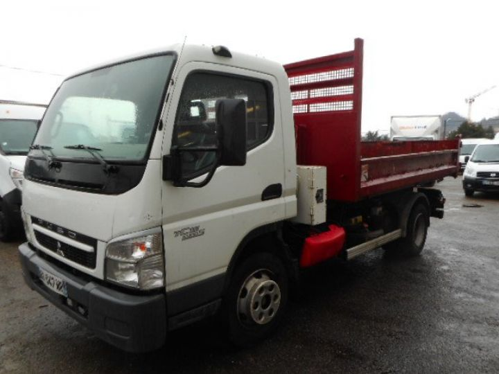 Camion porteur Mitsubishi Canter Ampliroll Polybenne 7C15  Occasion - 2