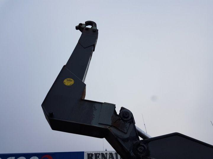 Camion porteur Renault Kerax Ampliroll Polybenne 370dci.19 potence cassée VERT - BLEU Occasion - 5