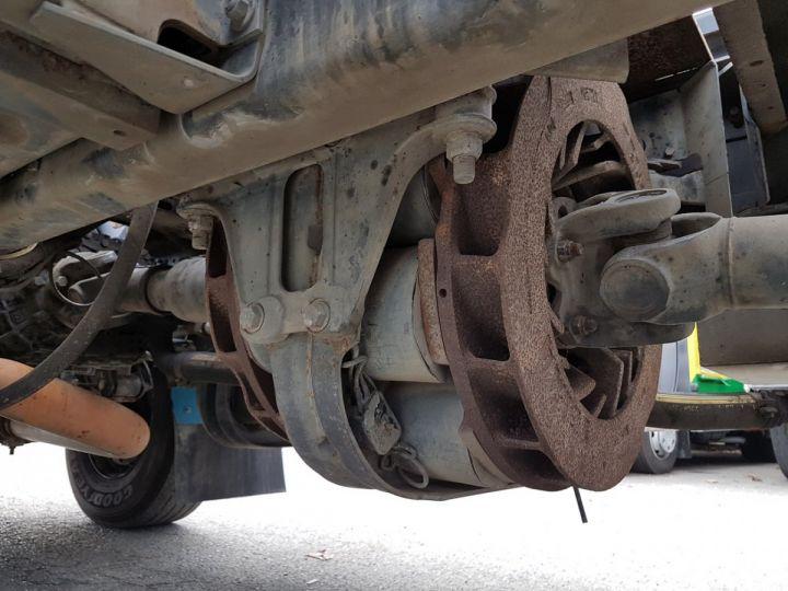 Camion porteur Renault Kerax Ampliroll Polybenne 370dci.19 potence cassée VERT - BLEU Occasion - 13