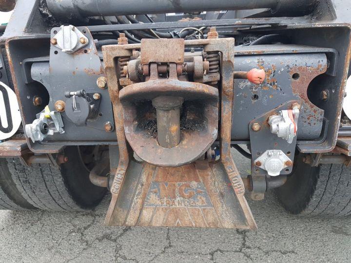 Camion porteur Renault Kerax Ampliroll Polybenne 370dci.19 potence cassée VERT - BLEU Occasion - 14