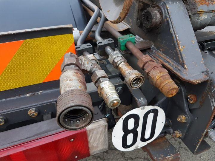 Camion porteur Renault Kerax Ampliroll Polybenne 370dci.19 potence cassée VERT - BLEU Occasion - 17