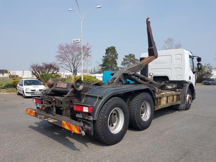 Camion porteur Renault Premium Lander Ampliroll Polybenne 430dxi.26 6x4 BLANC Occasion - 3