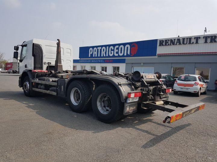 Camion porteur Renault Premium Lander Ampliroll Polybenne 430dxi.26 6x4 BLANC Occasion - 5