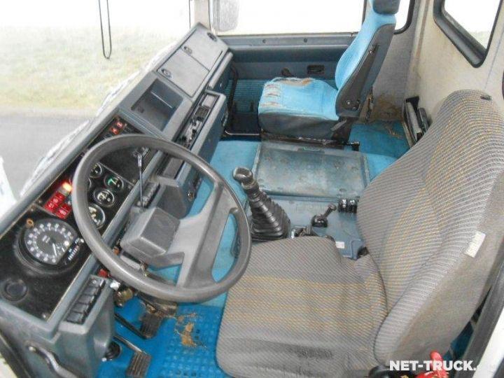 Camion porteur Renault Major Ampliroll Polybenne R330.19 BLANC et ROUGE Occasion - 9